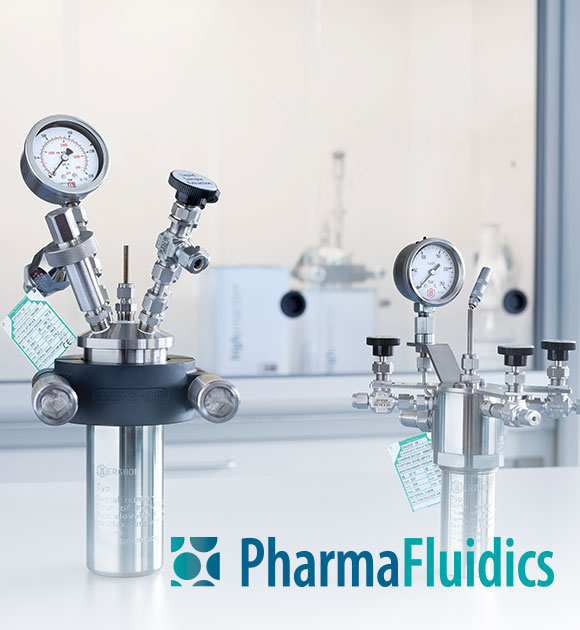 Case Study highpreactor BR-40, BR-200 and BR-300 in use at PharmaFluidics
