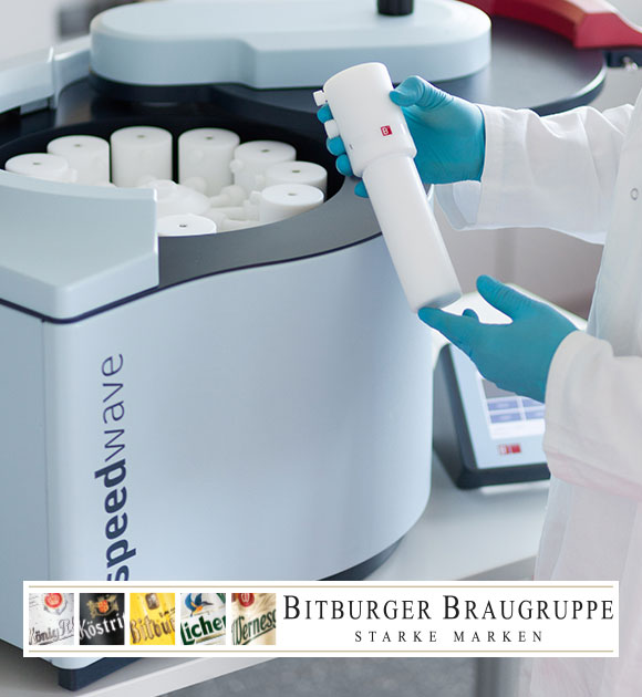 speedwave XPERT in use at Bitburger Brewery Group